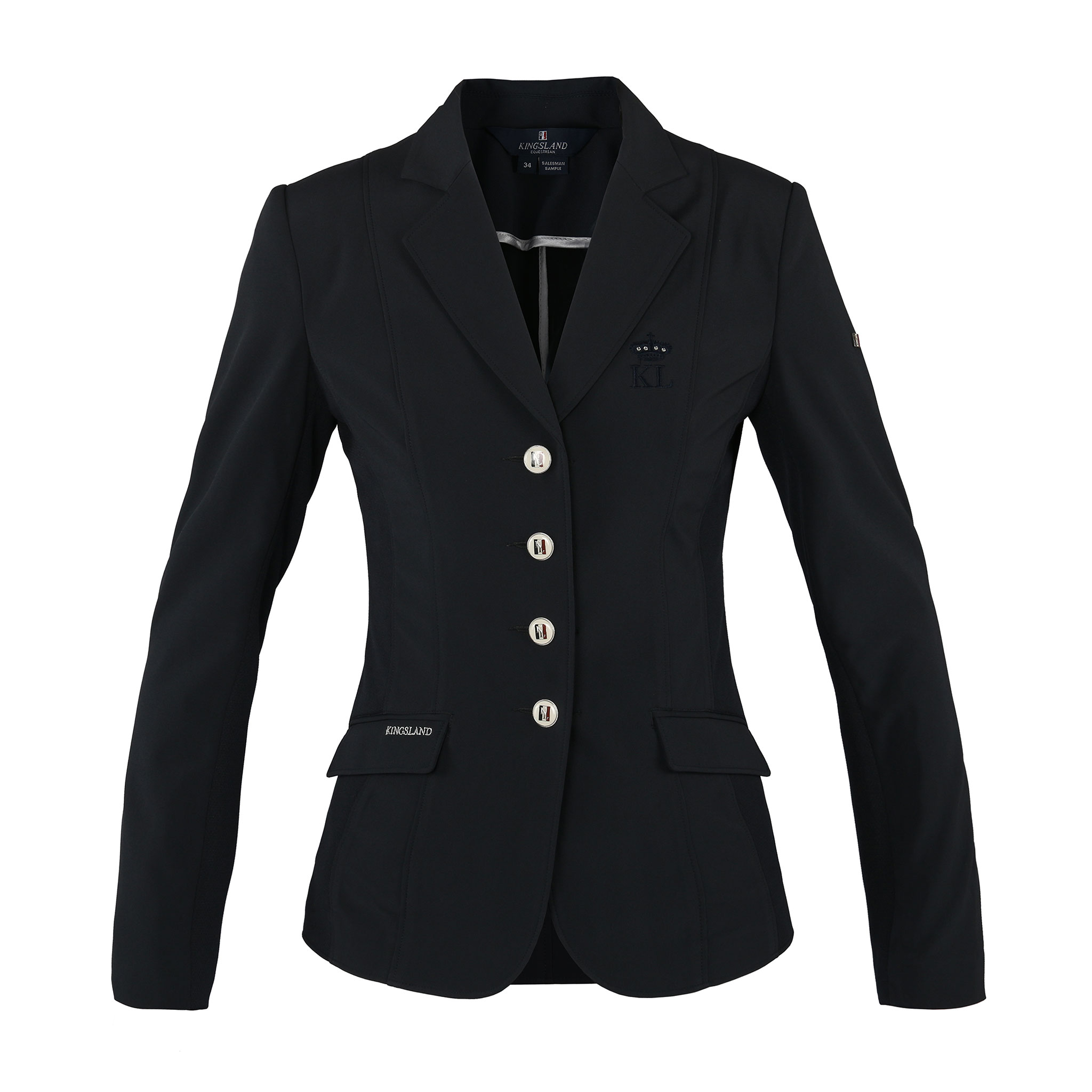 Kingsland Hayle ladies show jacket softshell navy