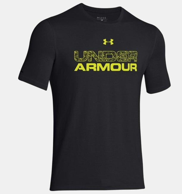 Under Armour T-Shirt Spring Nero Uomo