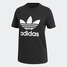 AdidasTrefoil Ree Nero-Bianco T-Shirt Donna