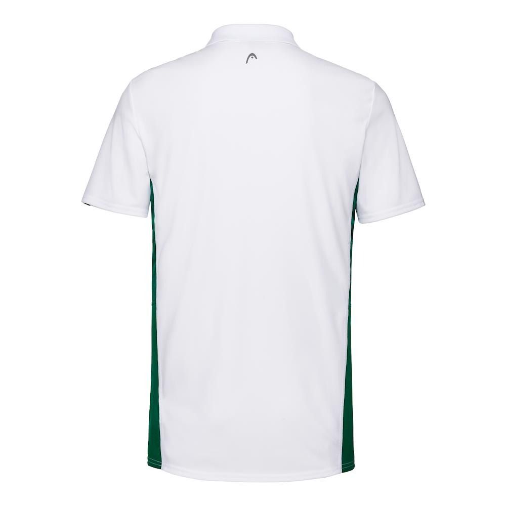 Head Club Tech Polo Shirt Bianco Verde Uomo 1