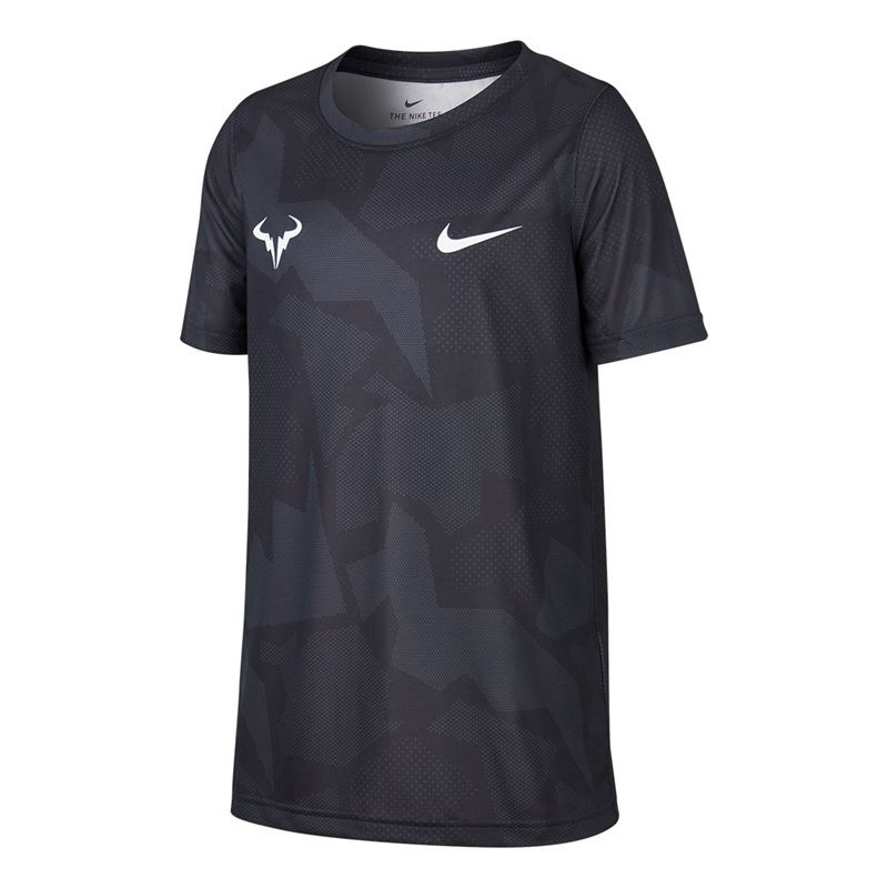 Nike Rafa Spring Legend T-Shirt Nero Bambino