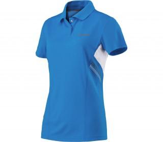 Head Basic Tech Polo Azzurro Donna