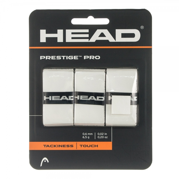 Head Prestige Pro Overgrip Bianco (3x)