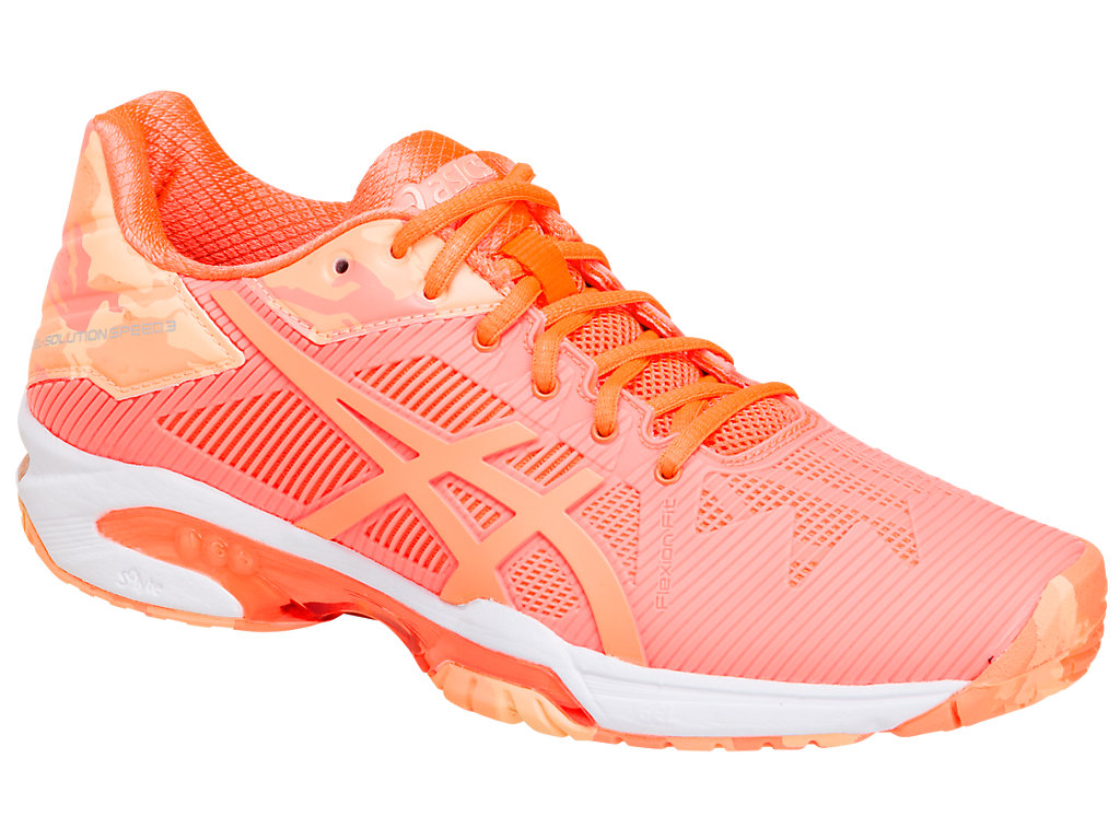 Asics Gel-Solution Speed 3 AC Corallo Donna