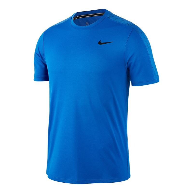 Nike T-Shirt Winter Graphic Crew Blu Uomo
