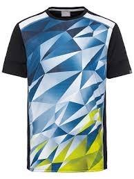 Head Medley T-Shirt Blu-Giallo Bambino