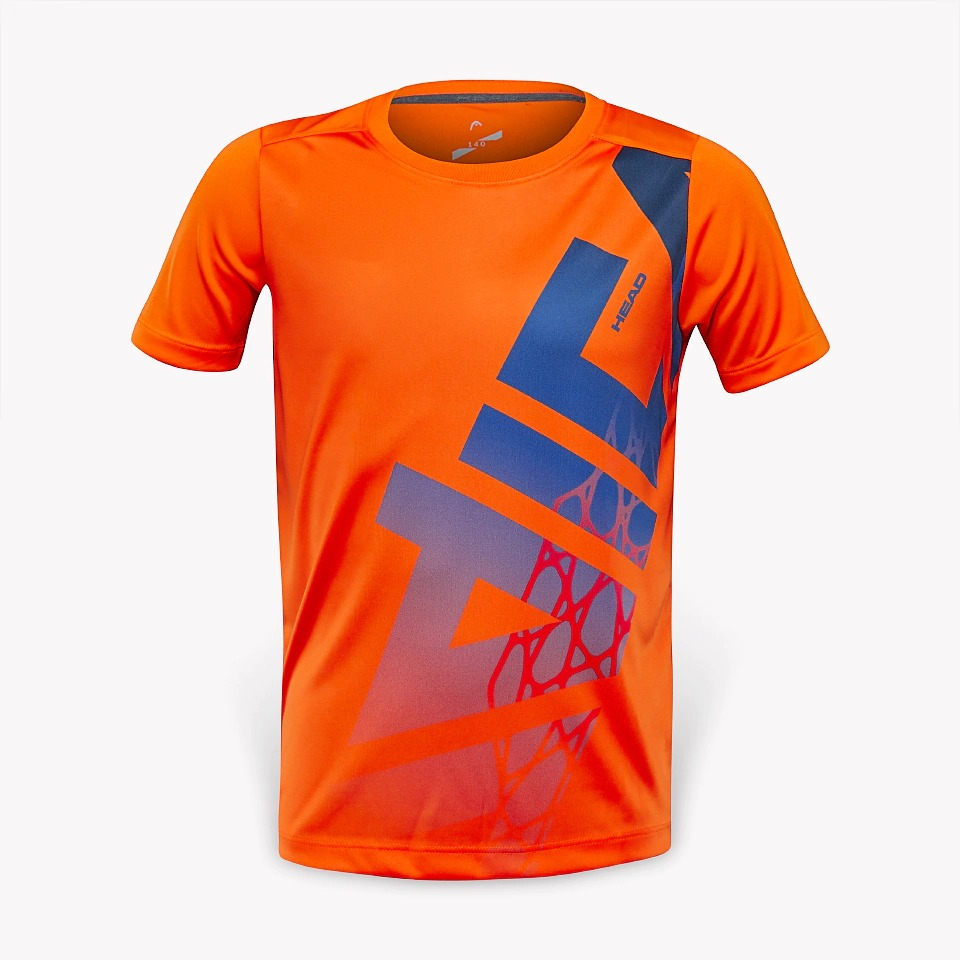 Head Vision Radical T-Shirt Arancione Bambino