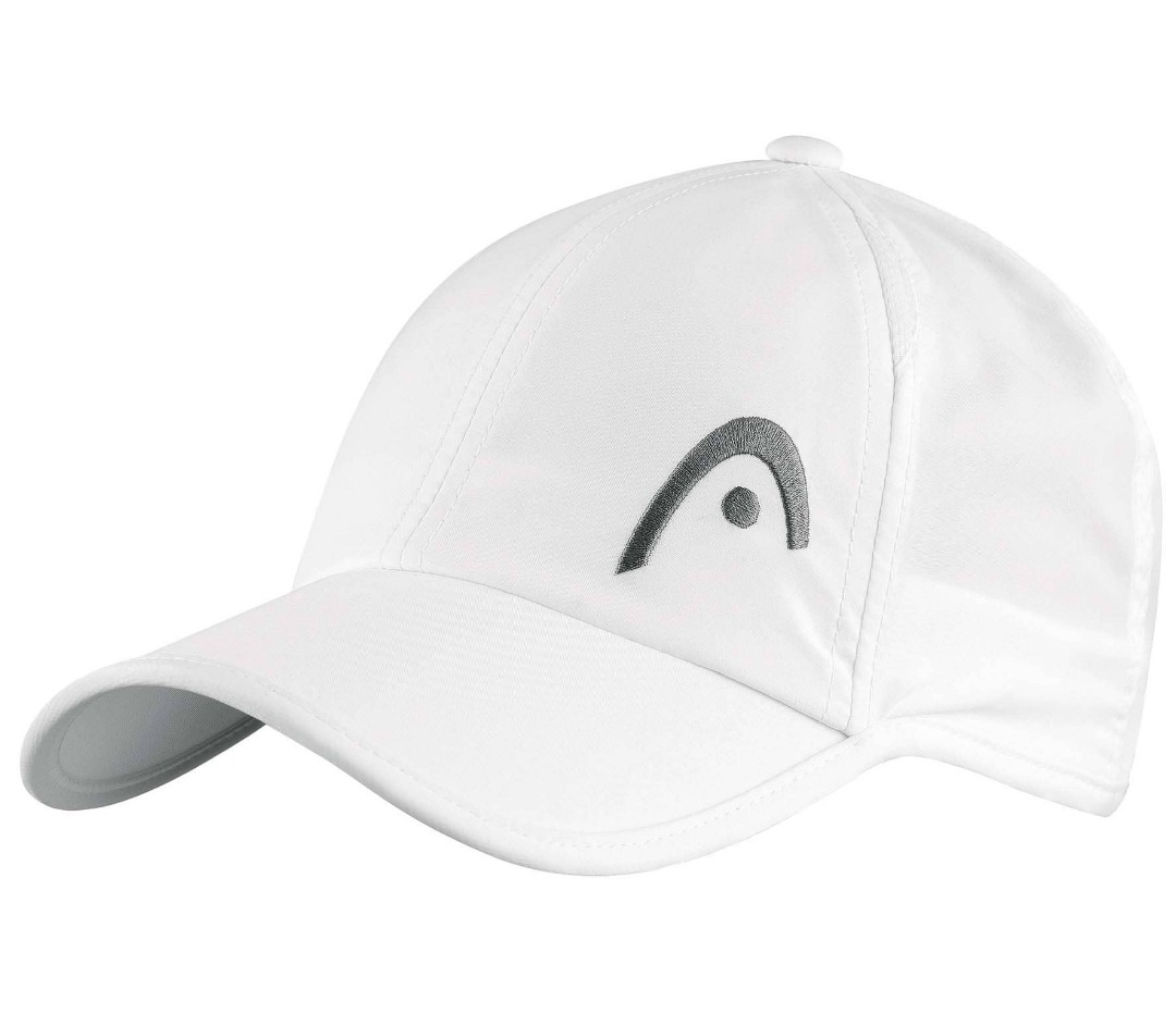 Head Pro Player Cap Bianco