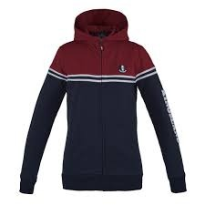 Kingsland Anton Sweat Jacket Rosso Navy 1