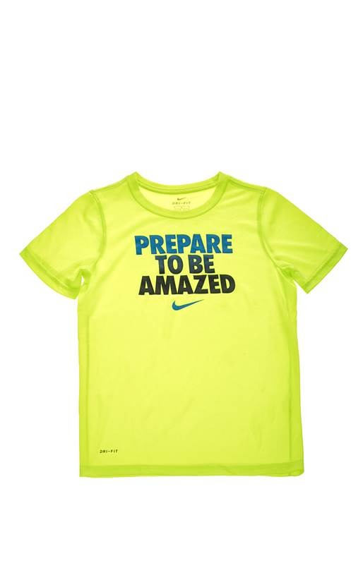 Nike Summer Be amazed Crew lime  Bambino