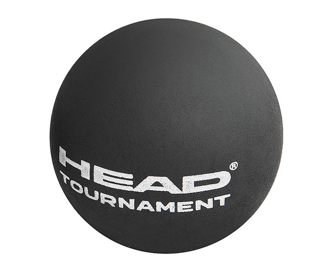 Head Tournament Squash Ball Nero