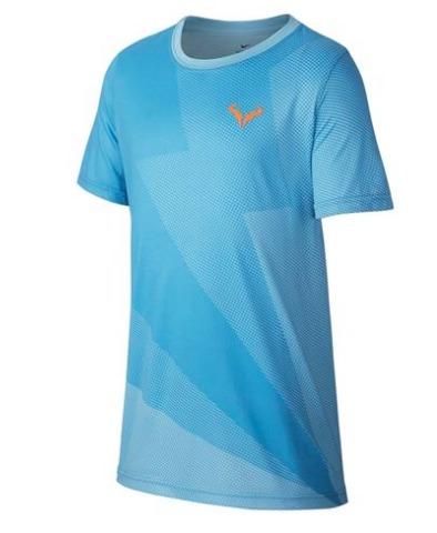 Nike Rafa T-Shirt Azzurro Bambino 1