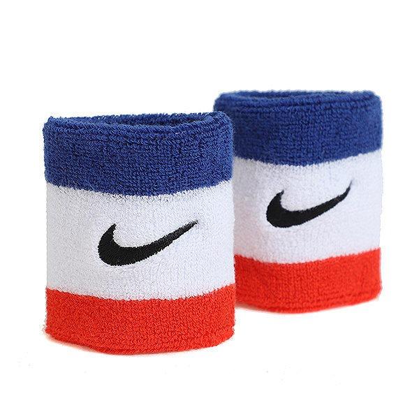 Nike Polsini Bianco Rosso Blu (2x)