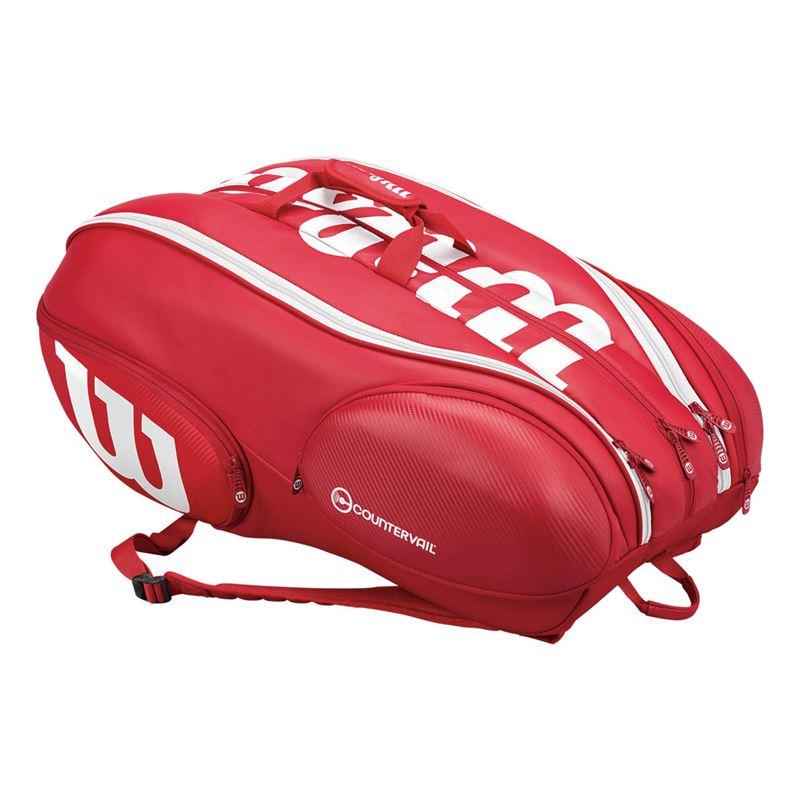 Wilson Vancouver Bag Rosso-Bianco 15x