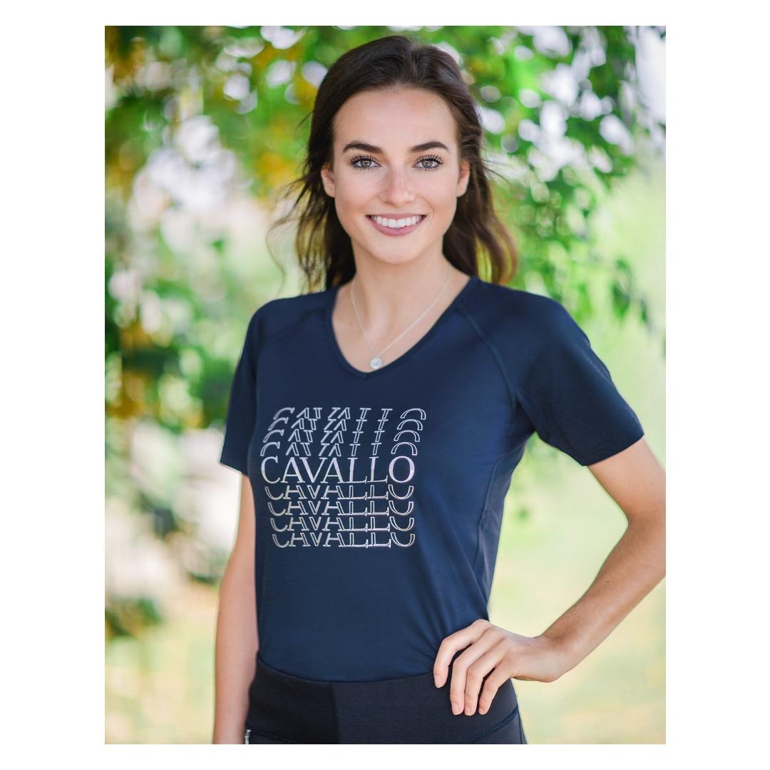 Cavallo T-Shirt Maren Navy Donna 1