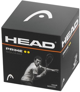 Head Prime Squash Ball Nero