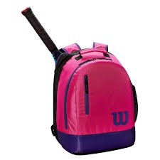 Wilson Youth Backpack Pink 1