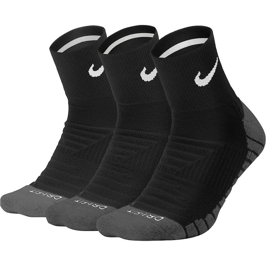 Nike Everyday Cushion Quarter Black 1