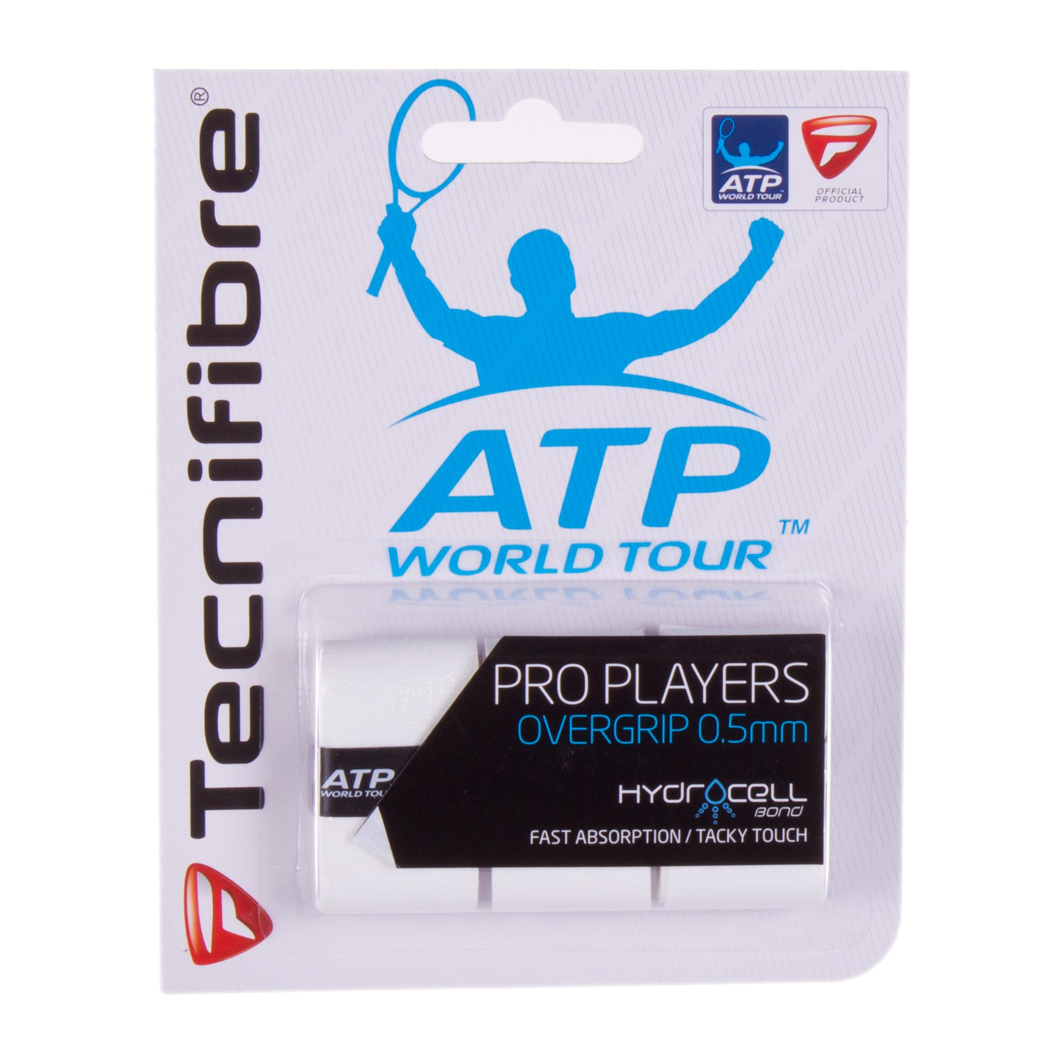 Tecnifibre Pro Players Overgrip Bianco (3x)
