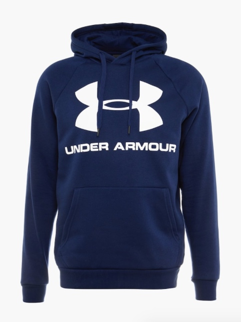 Under Armour Rival Fleece Sportstyle Hoodie Navy Uomo