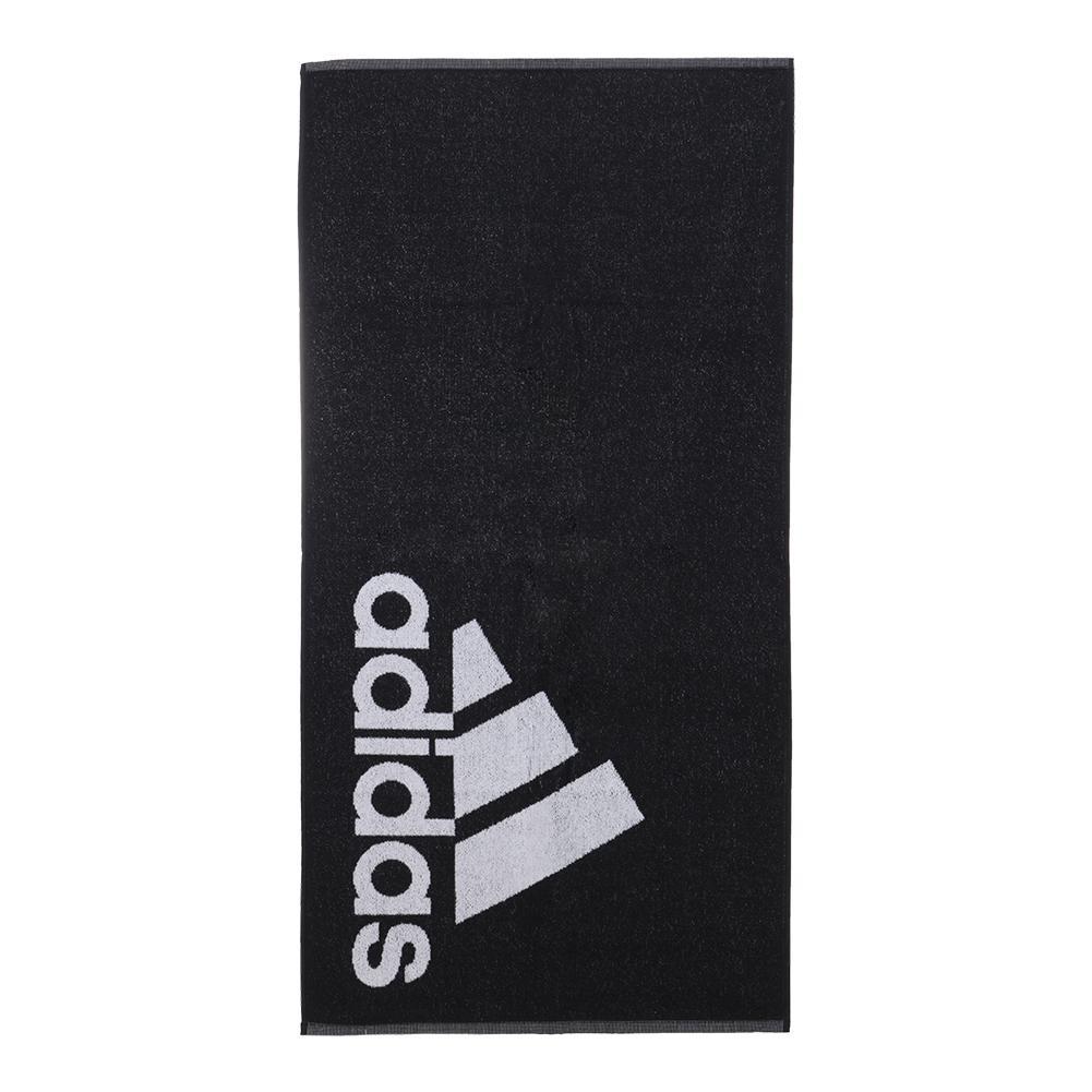 Adidas asciugamano nero/bianco