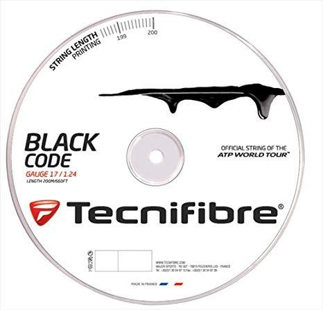 Tecnifibre Black Code 1.24 mm 200m