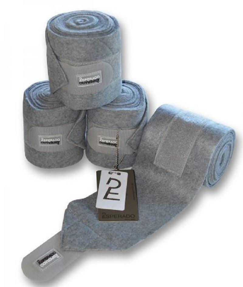 Esperado Fleece Bandagen Grau Melange