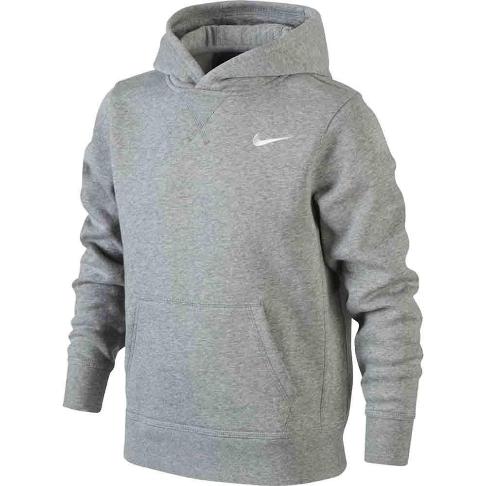 Nike Basic Hoodie Grigio Bambino 1