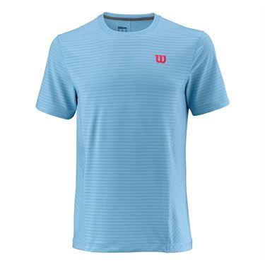 WilsonUWII Linear Crew T-Shirt Azzurro Uomo 1