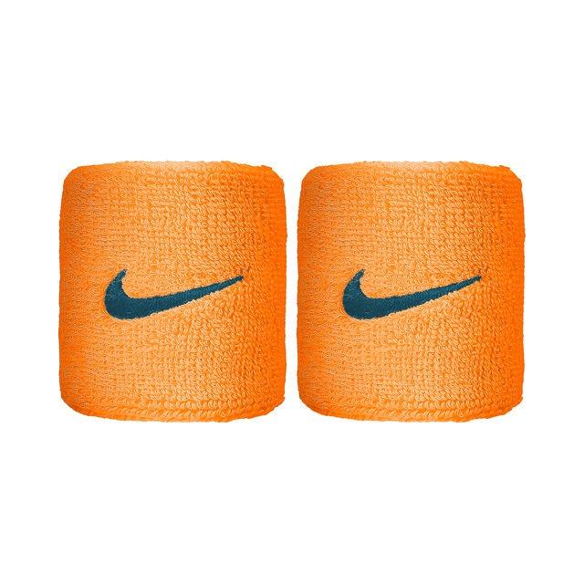Nike Polsini Arancione Logo Grigio (2x)
