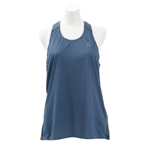 ON Running Tank Denim Navy Donna