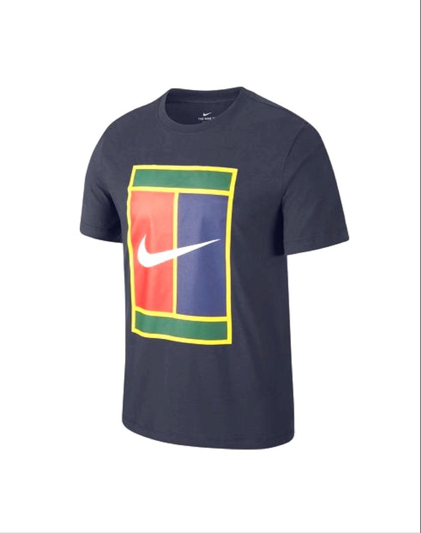 Nike T-Shirt Heritage Logo Navy Uomo 1
