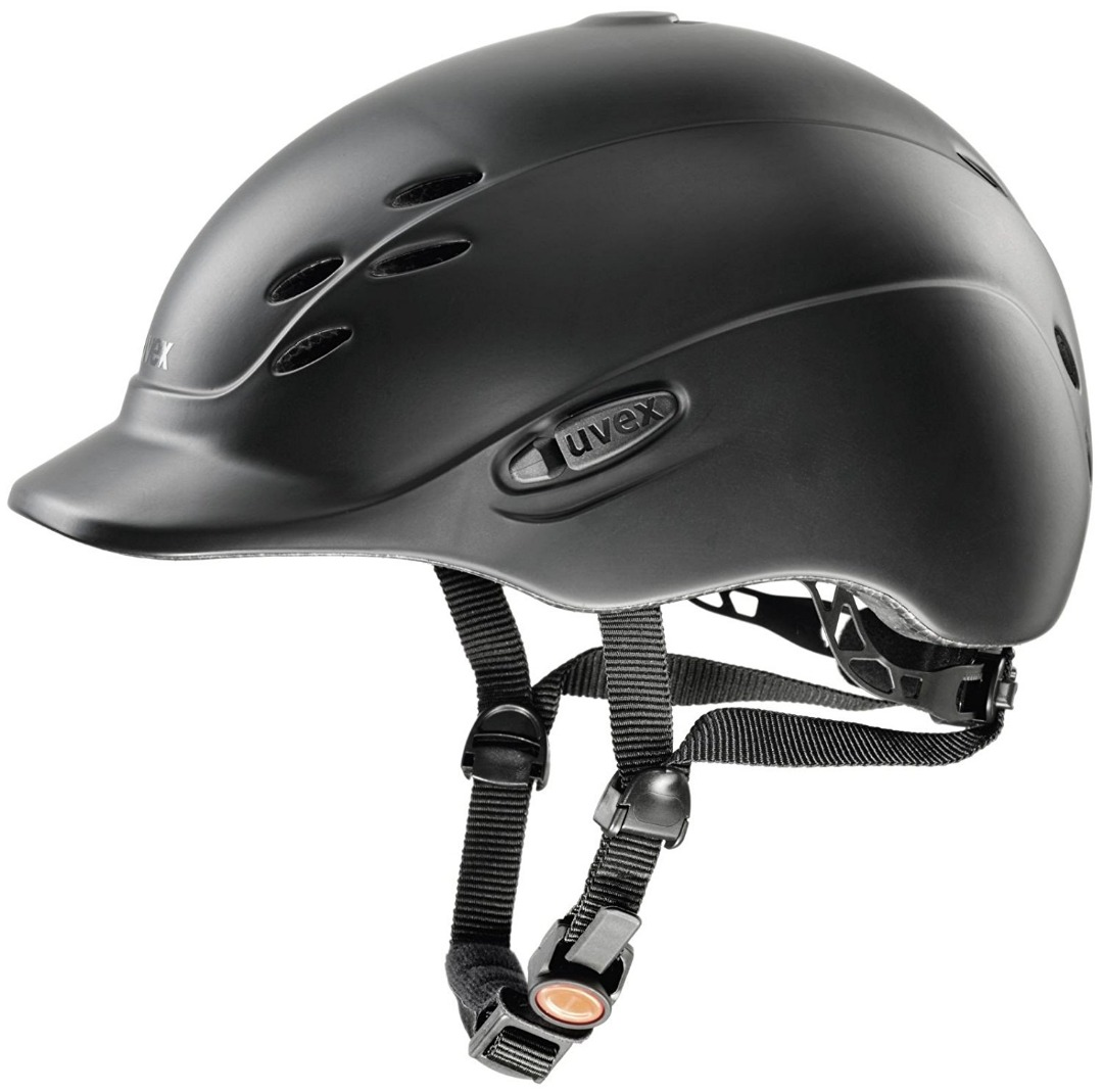 Uvex Casco Onyx Friends black mat Junior