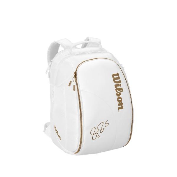 Wilson DNA Federer Backpack Bianco-Gold
