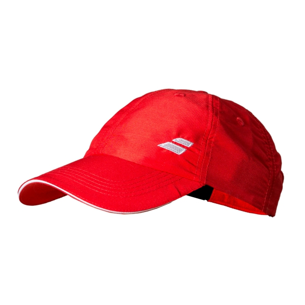 Babolat New Basic Logo Cap 2018 Fiery Rosso Junior