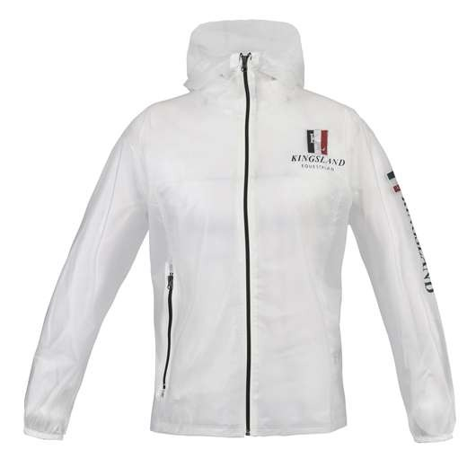 Kingsland Classic Rain Jacket Trasparent Unisex 1