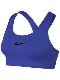 Nike Basic Pro Classic Bra Blu Donna