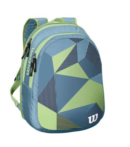 Wilson Junior BackPack Blu Green 1