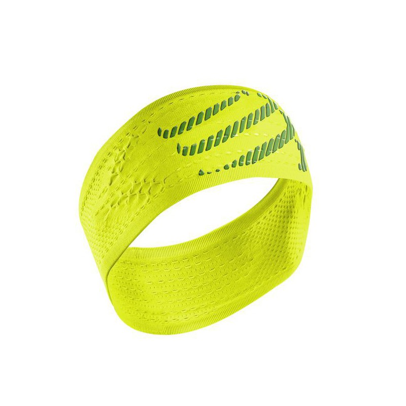 Compressport Headband Fluo Giallo