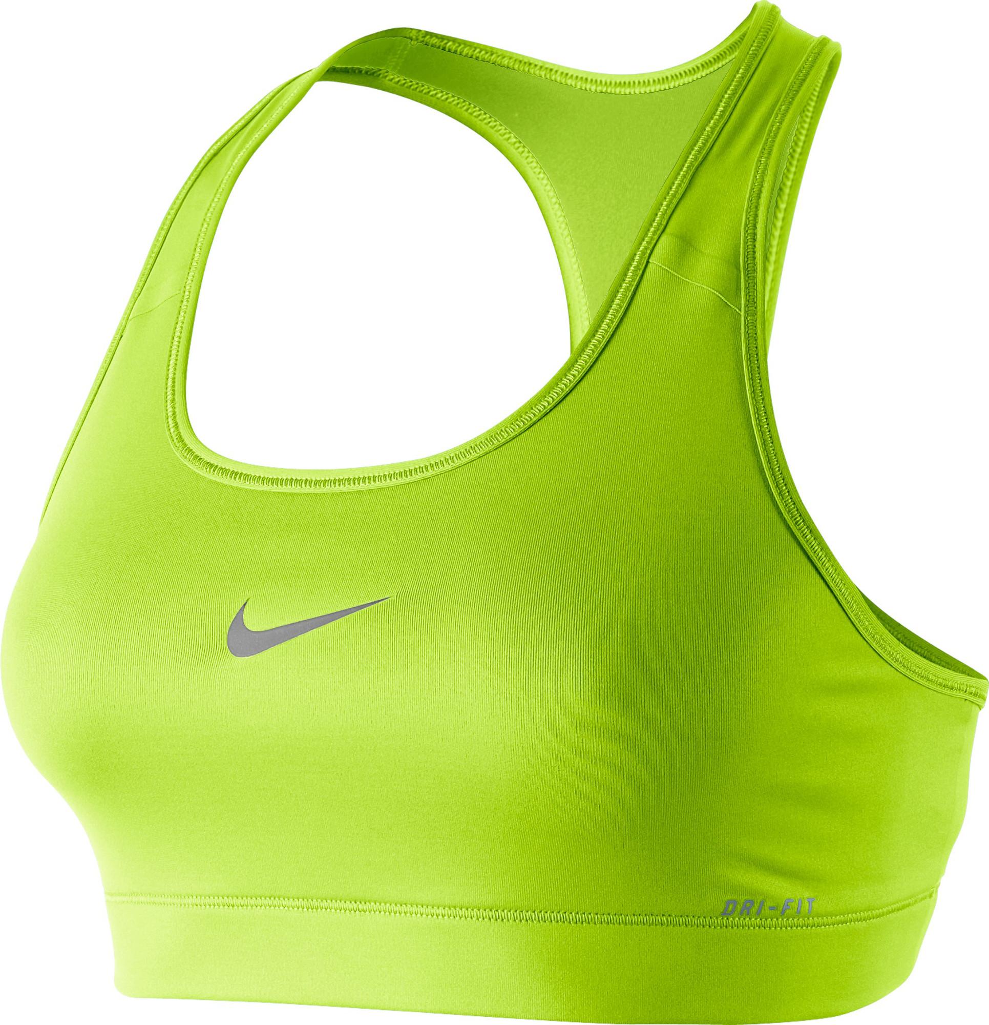 Nike Pro Victory Compression Sports Bra Giallo Donna