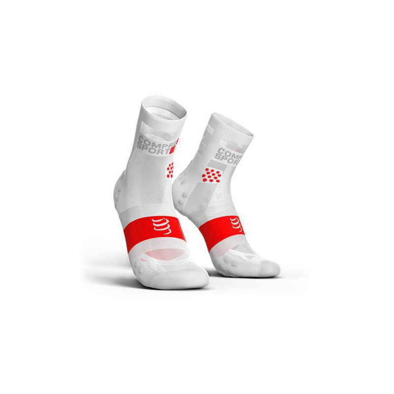 Compressport Calze Basse Smart  Ultra Light Bianche