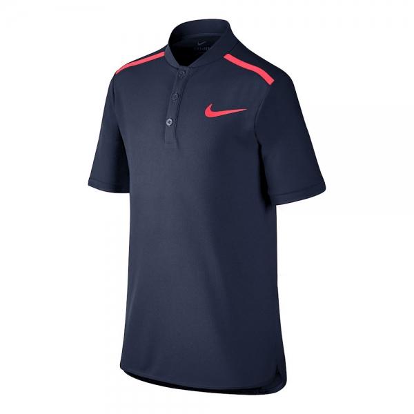 Nike Fall Advantage Henley Navy Bambino