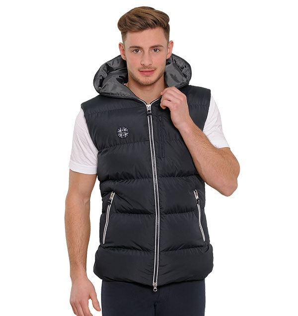 Spooks Nico Vest  dark grey Uomo