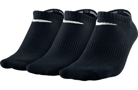 Nike Performance Lightweight Calze Nere (3x) 1
