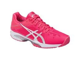 Asics Gel-Solution Speed 3 AC Red-Silver-White Donna 1