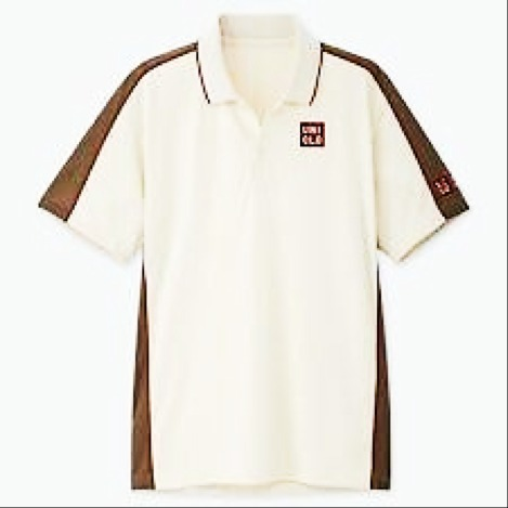 Uniqlo Polo Roger French open Beige Uomo