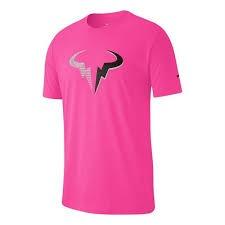 Nike Dry Court T-Shirt Rafa Rosa Uomo 1