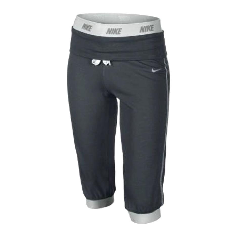 NikeVictory Capri Neri Bambina 1