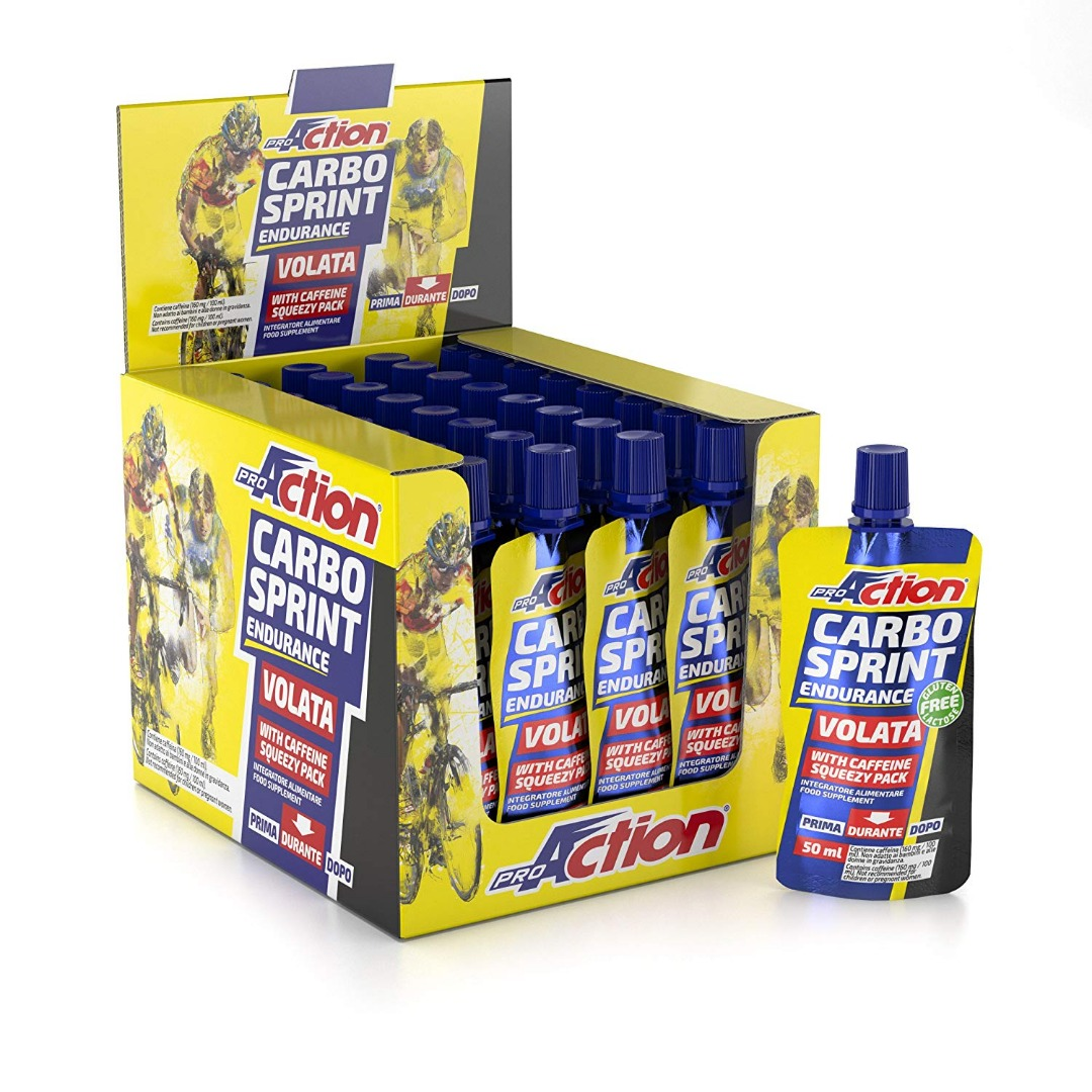 Pro Action Carbo Sprint Endurance Volata Arancia 50 ml 1