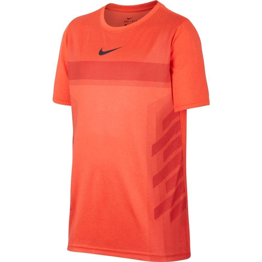 Nike Rafa Legend T-Shirt Arancione Bambino 1